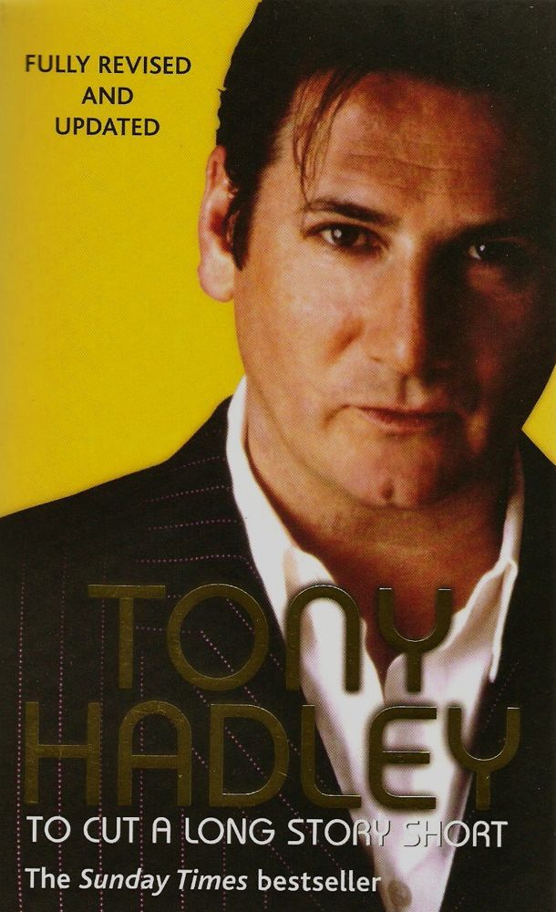 Tony Hadley To Cut a Long Story Short Paperback Cover