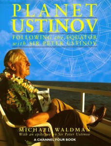 Planet Ustinov Book Cover TV Tie In Maria Malone